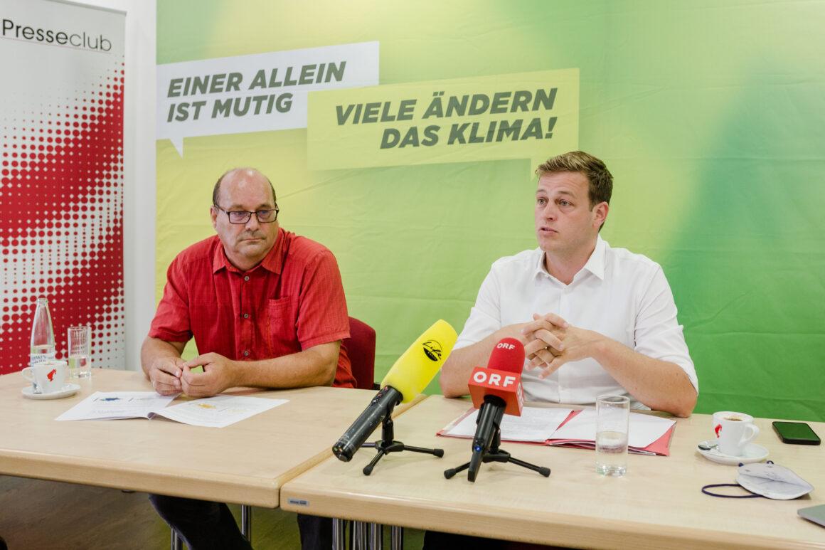 Pressekonferenz zur oberösterreichischen Hitzestudie mit Prof. Formayer von der BOKU Wien
