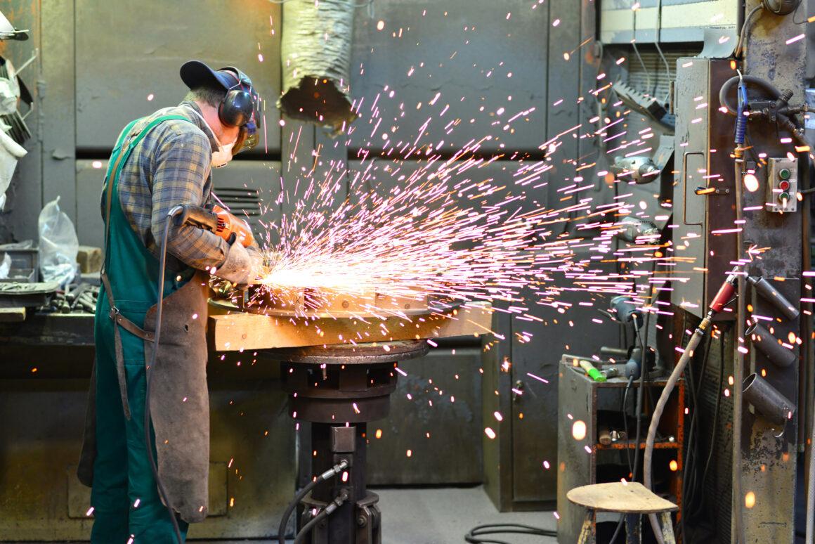 Arbeiter in der Industrie